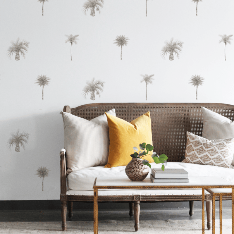 Palm Tree Pattern Decal Set - Project Nursery