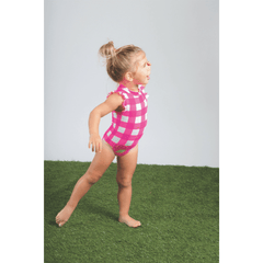 Lovely Ladybug Ruffle Shoulder Swimsuit - Project Nursery