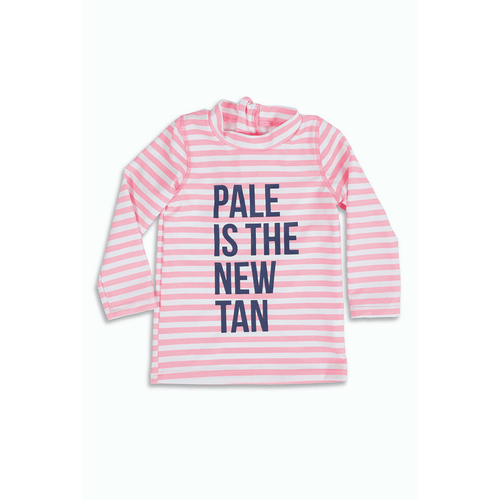 PALE IS THE NEW TAN RASHGUARD - Project Nursery