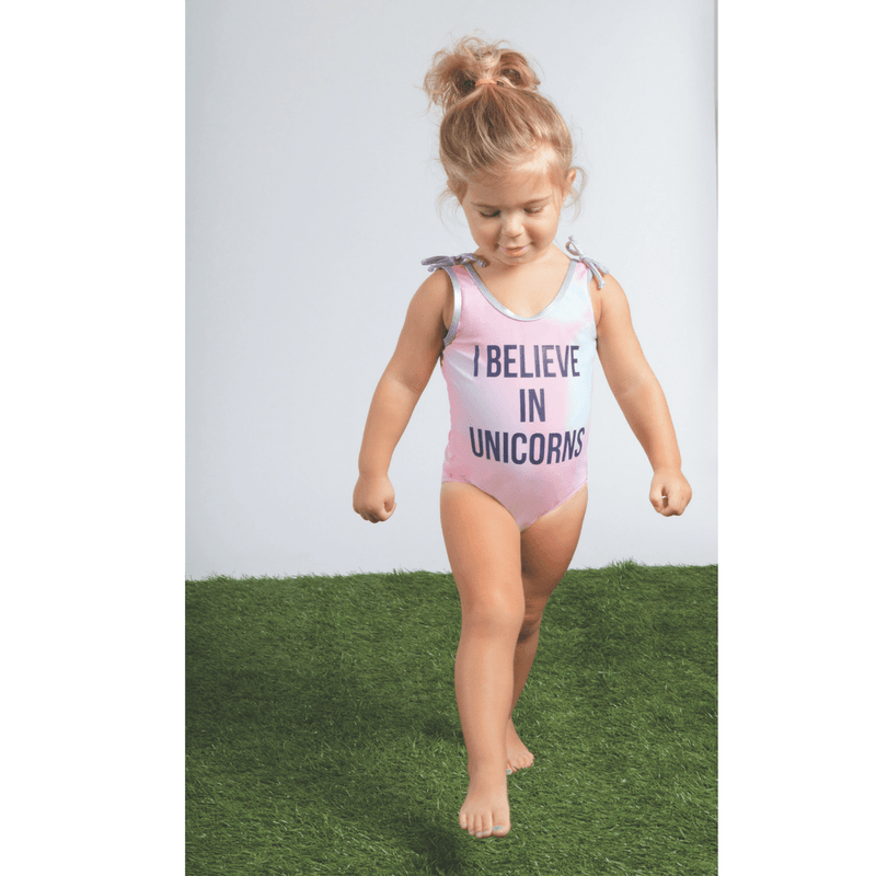 Unicorns and Rainbows Tie-Dye One-Piece Swimsuit - Project Nursery
