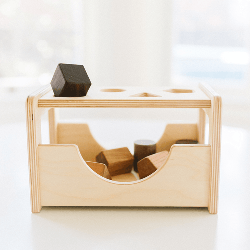 Wooden Shape Sorter - Project Nursery