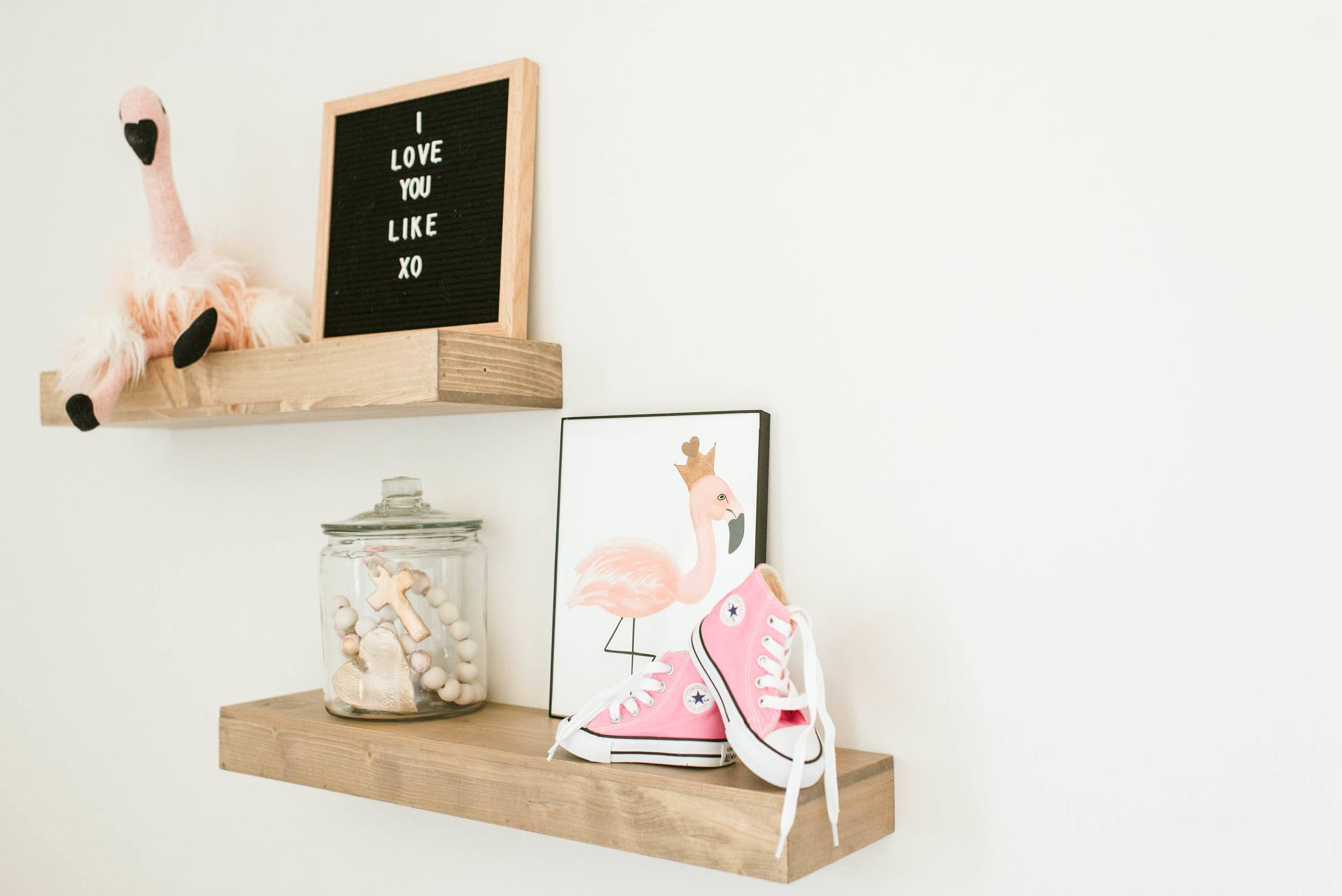 Crowned Flamingo Print - Project Nursery