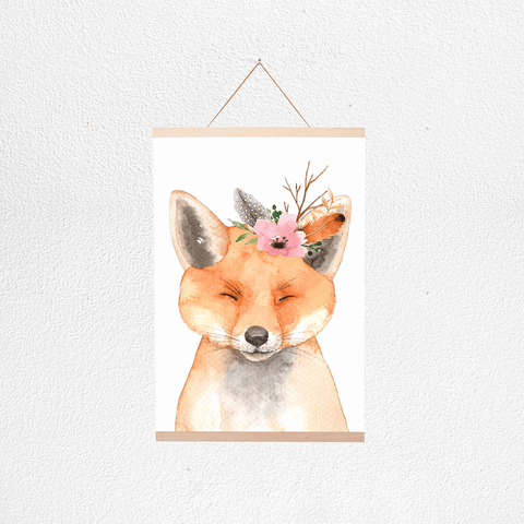 Wolf Cub Little Darling Print