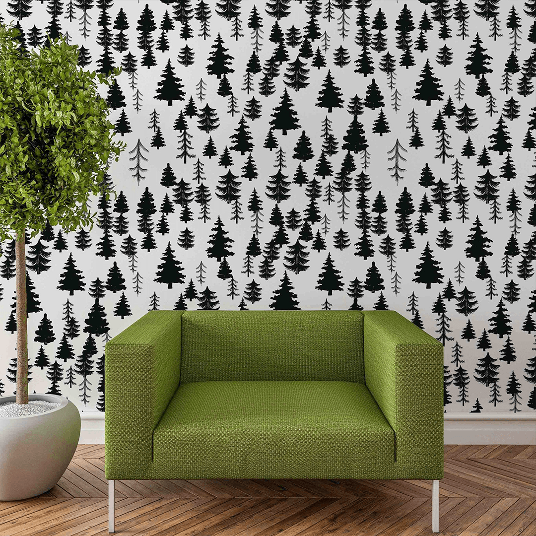 Baldwin Tree Wallpaper - Project Nursery