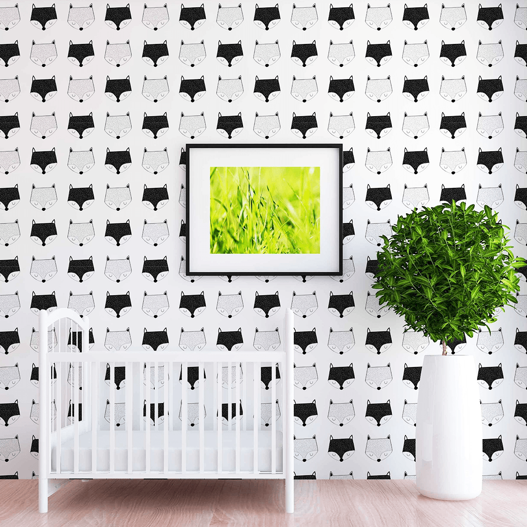 Baxter Fox Wallpaper - Project Nursery