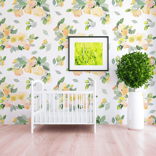 Beatrice Wallpaper - Project Nursery