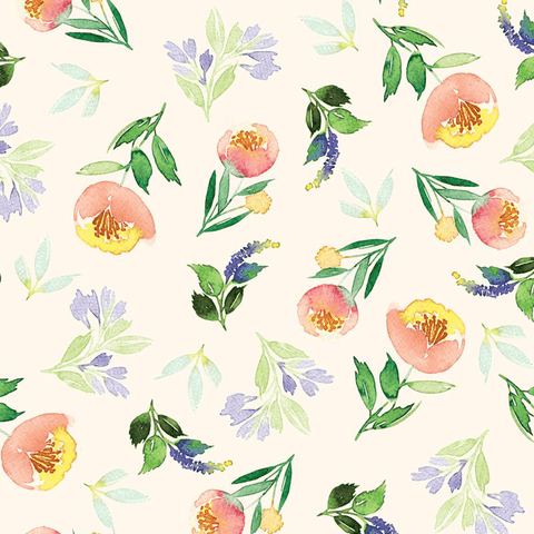 Honey Bloom Wallpaper Mural