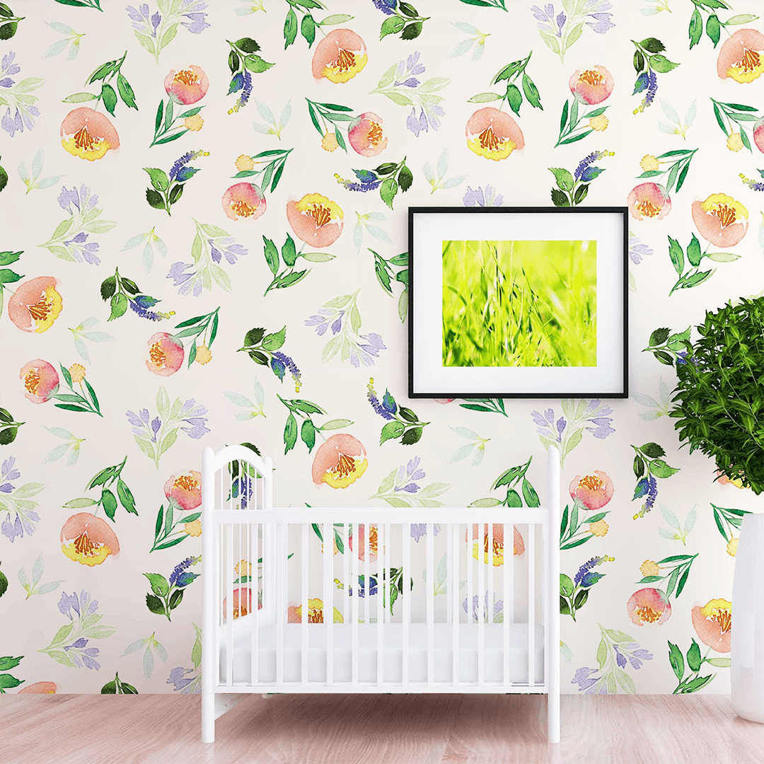 Brielle Wallpaper - Project Nursery