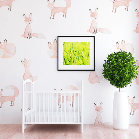 Baby Deer Little Darling Print