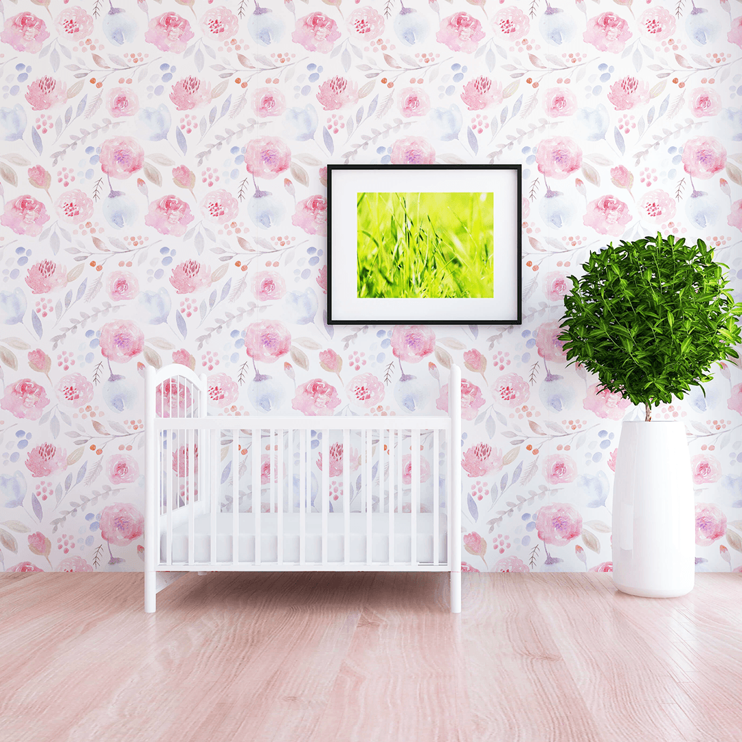 Leona Wallpaper - Project Nursery