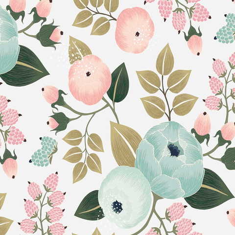 Blossoms Wallpaper Mural