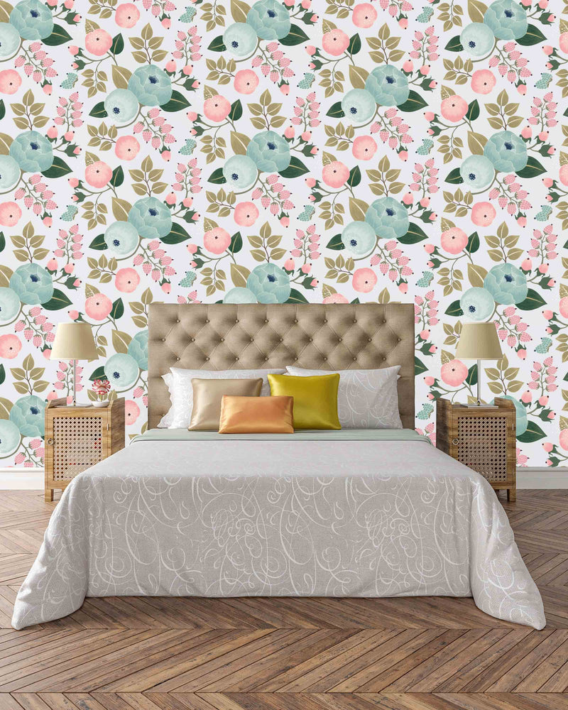 Lila Wallpaper - Project Nursery