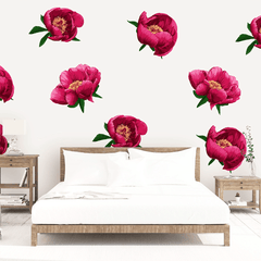 Marigold Floral Wall Decal Set - Project Nursery