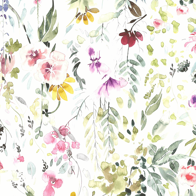 Meadow Floral Wallpaper - Project Nursery