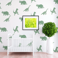 Rex Dinosaur Wall Decal Set - Project Nursery