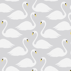 Thea Swan Wallpaper - Project Nursery