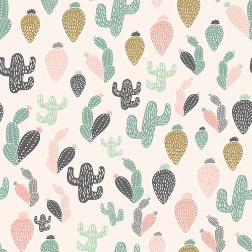 Zora Cactus Wallpaper - Project Nursery