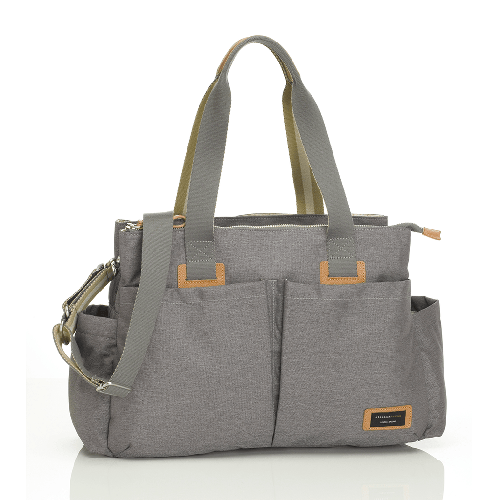 Travel Shoulder Bag Grey - The Project Nursery Shop - 6