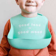 Bless This Mess + Good Food Silicone Bib Set - Project Nursery