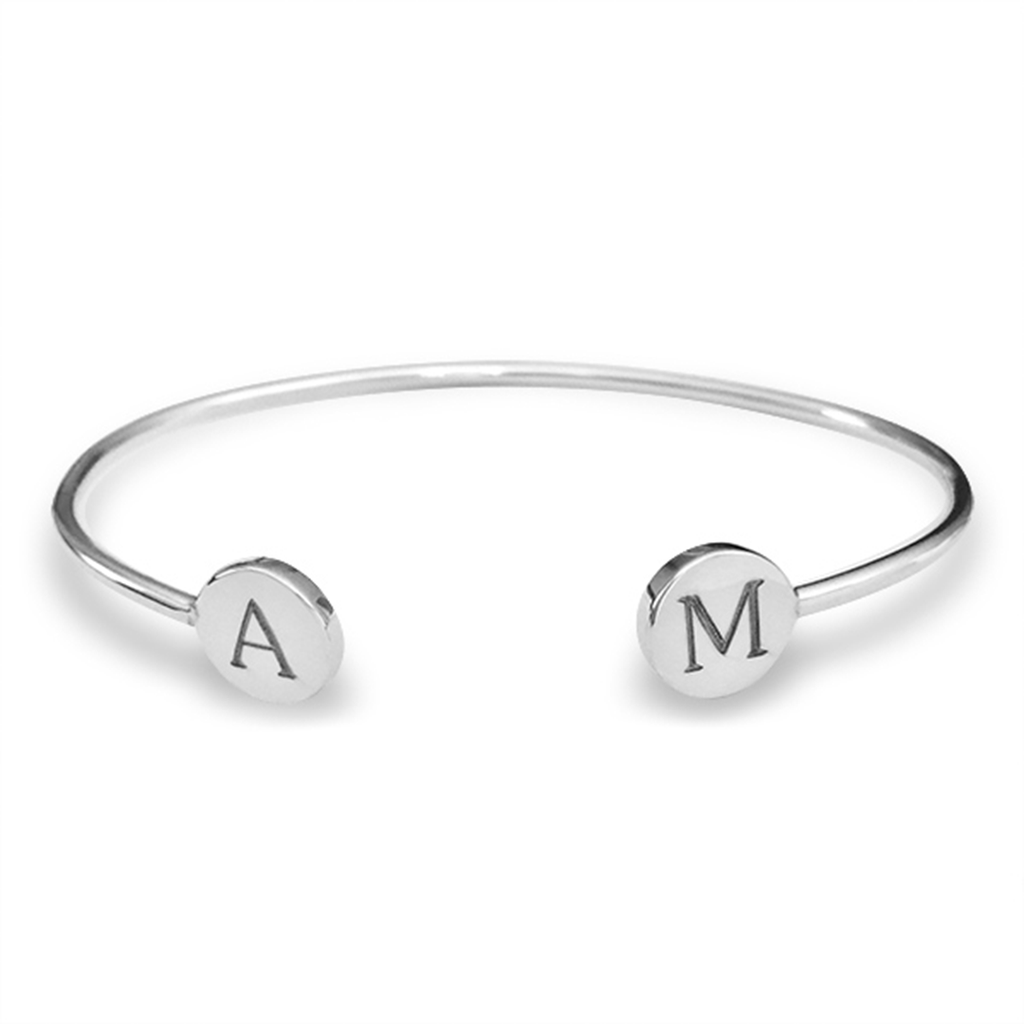 Signet Bangle Sterling Silver - The Project Nursery Shop - 5