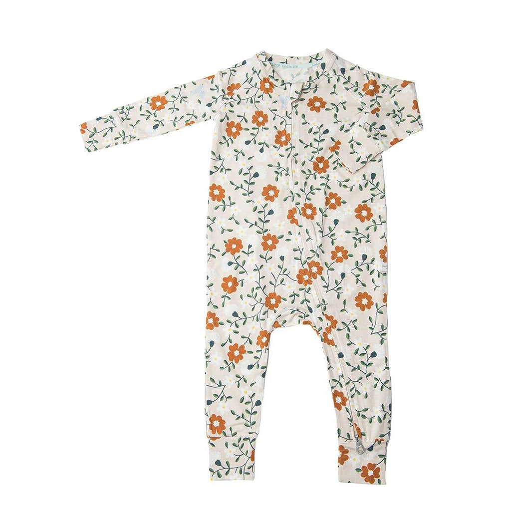 Flower Vine Romper - Project Nursery