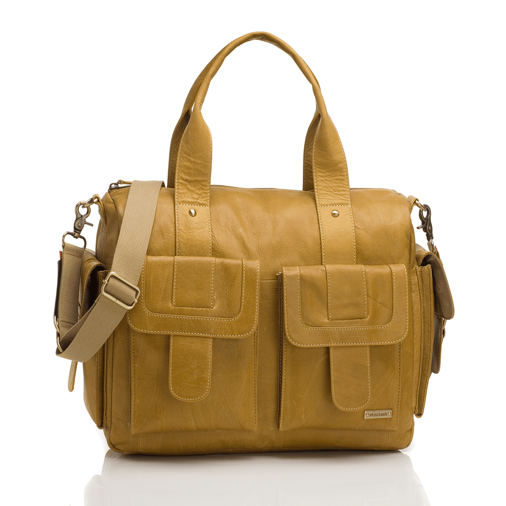 Sofia Diaper Bag Tan - The Project Nursery Shop - 4