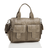 Sofia Diaper Bag Taupe - The Project Nursery Shop - 1