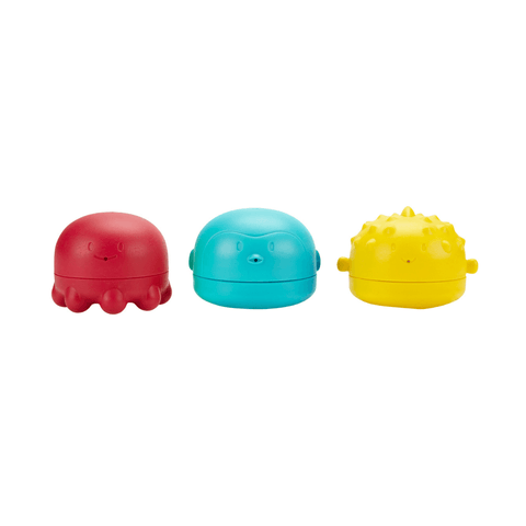 Cloud + Droplet Bath Toy Set