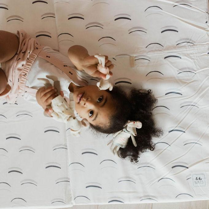Arches Padded Playmat - White - Project Nursery