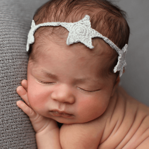 Star Knit Headband - Project Nursery