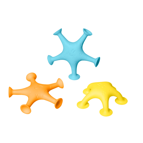 Starfish Suction Bath Toys - Project Nursery