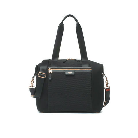 Noa Leather Diaper Bag