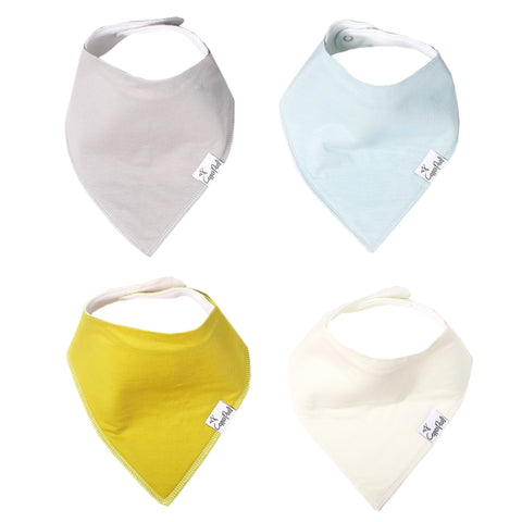 Cambridge Blue Silicone Baby Bib