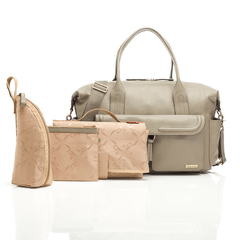 Charlotte Leather Diaper Bag - Project Nursery