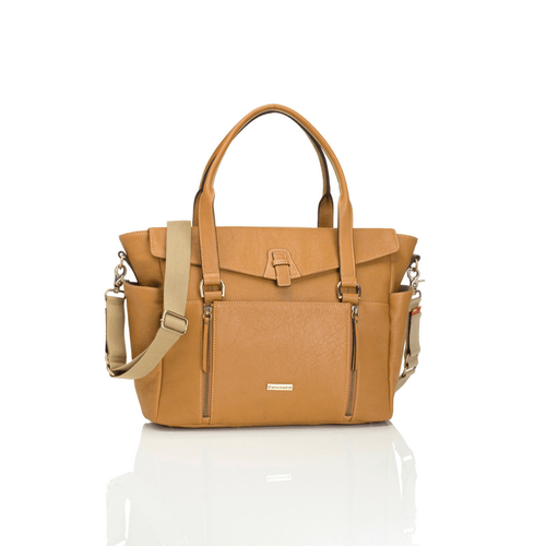 Emma Leather Diaper Bag - Project Nursery