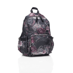 Hero Breast Pump Diaper Bag - Neon Floral - Project Nursery