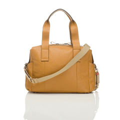 Kym Leather Diaper Bag - Project Nursery