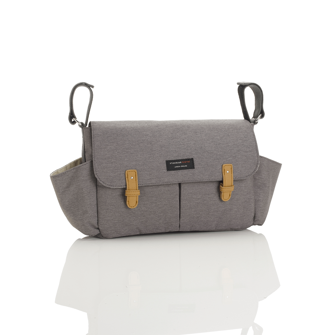 Stroller Caddy - Grey