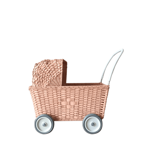 Strolley Basket in Rose - Project Nursery