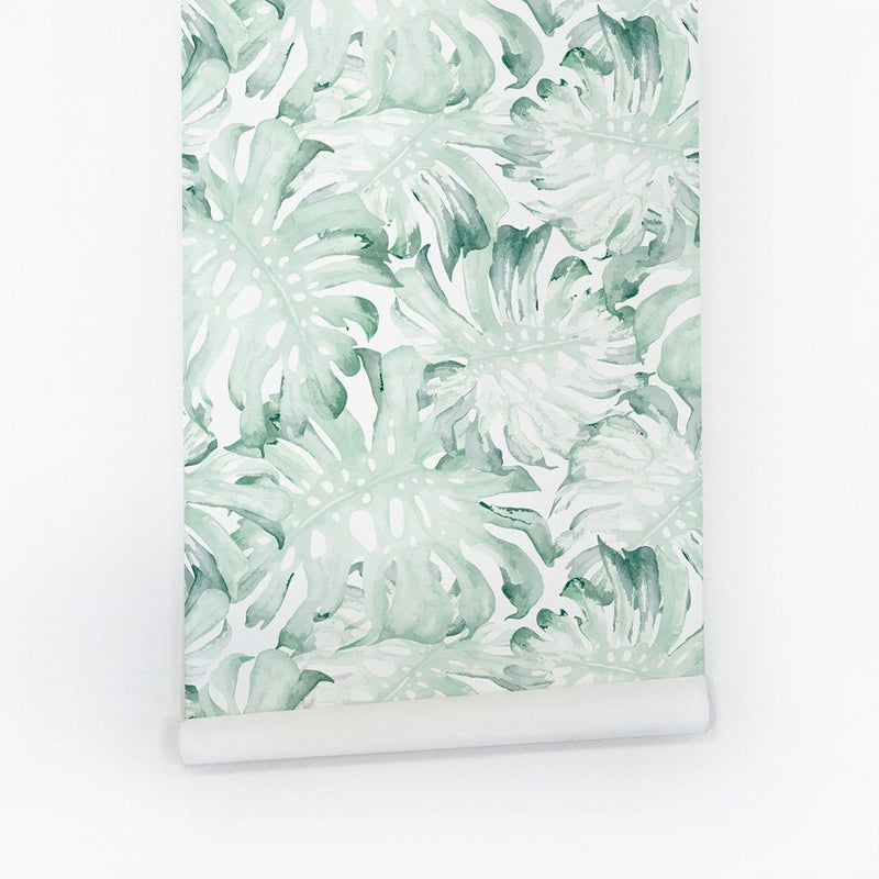 Palm Leaves Wallpaper - Project Nursery