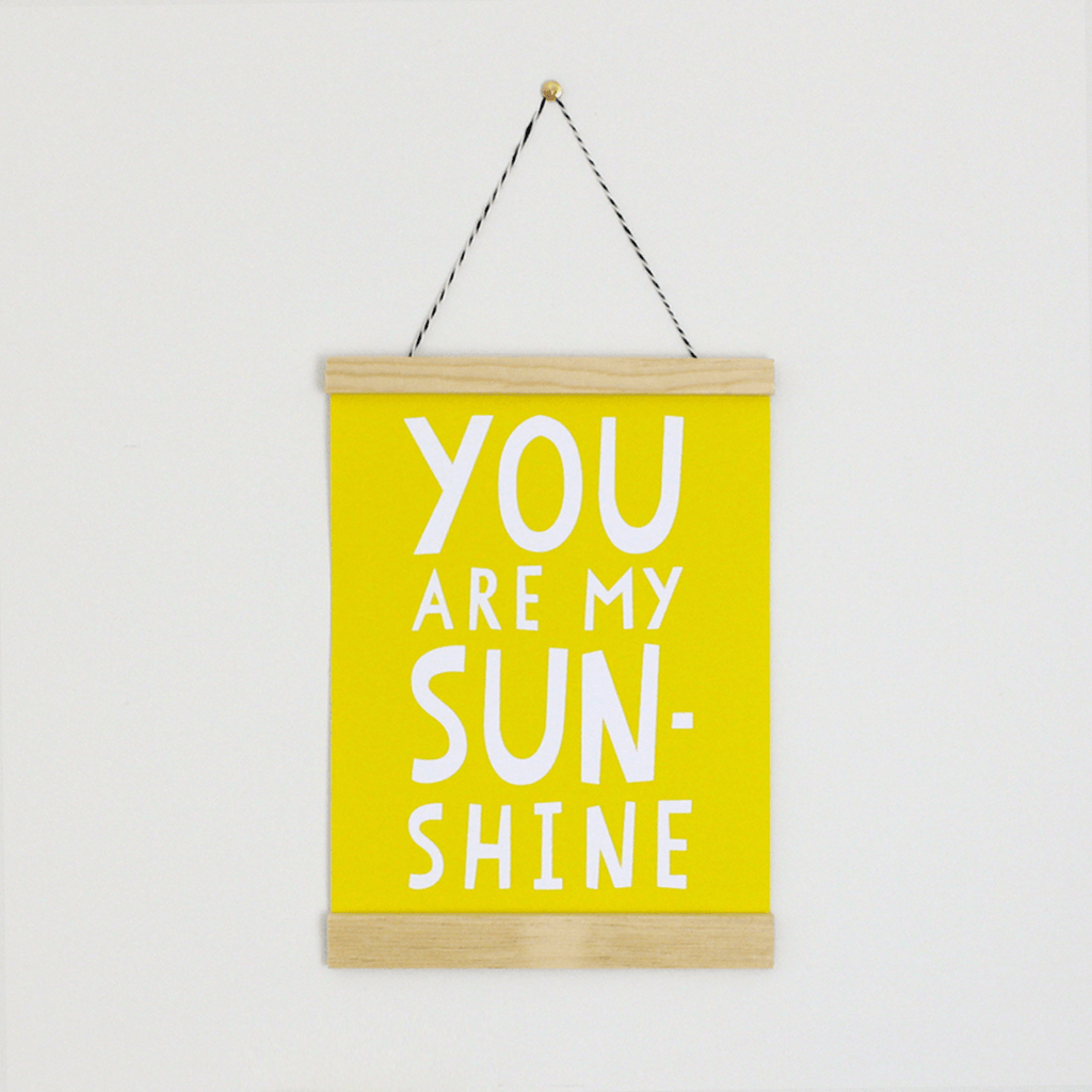 You are my Sunshine Canvas Banner - Project Nursery