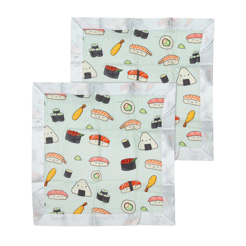 Sushi Security Blanket - 2 pack - Project Nursery