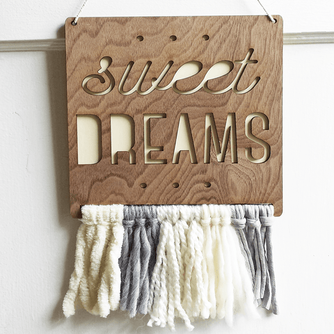Canvas Map Wall Hanging