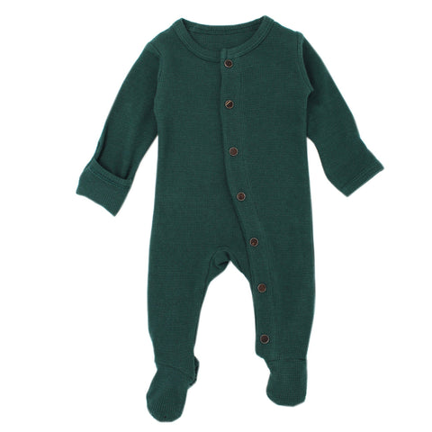 Organic Thermal Women's Onesie - Emerald