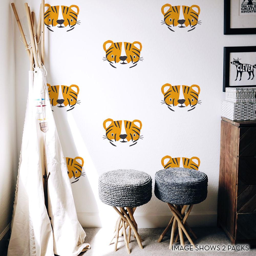 Tiger Cubs Wall Decals - Project Nursery