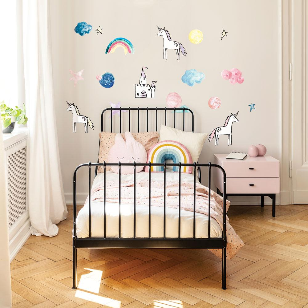 Rainbow & Unicorn Wall Decals - Project Nursery