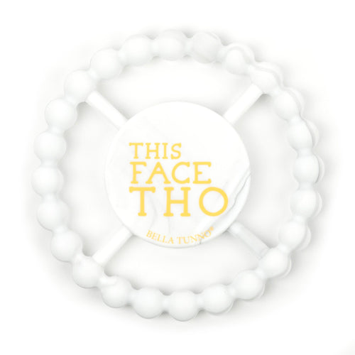 Happy Teether - This Face Marble Teether - Project Nursery