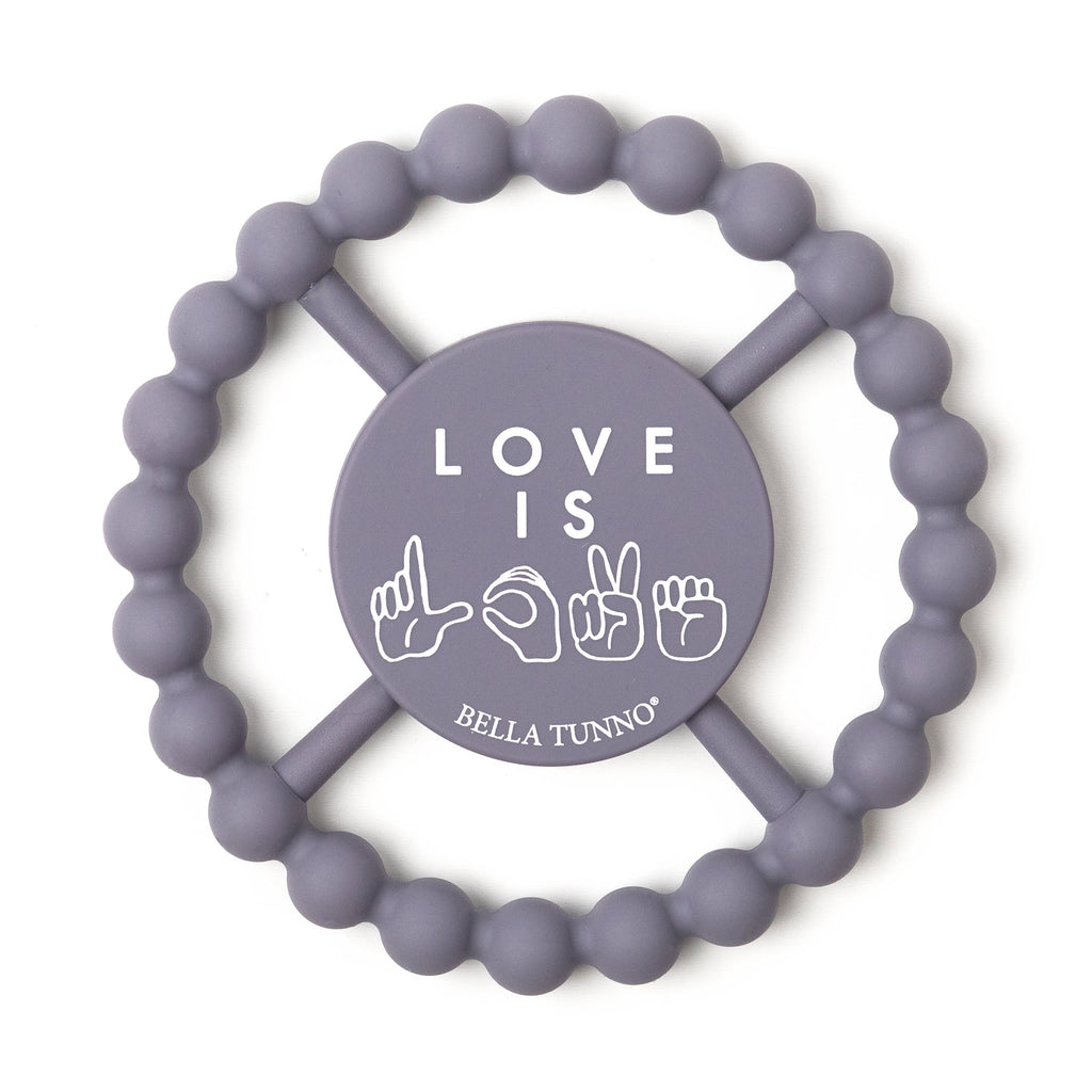 Love is Love Happy Teether - Project Nursery