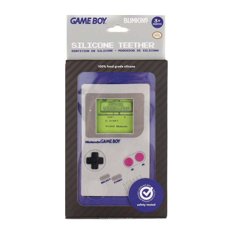 Nintendo Silicone Teether - Game Boy - Project Nursery