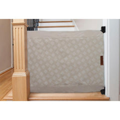 The Stair Barrier Wall-to-Banister Gate - Beige Natural Intersections - Project Nursery
